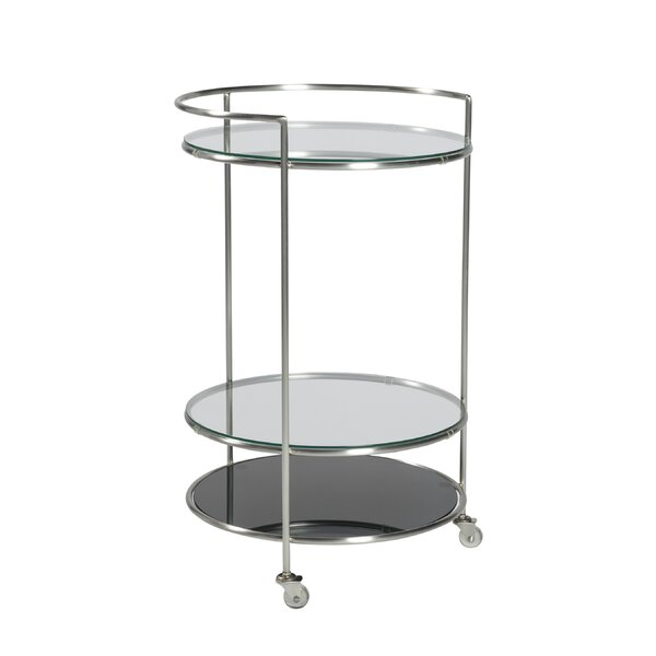 Vaishal Rolling Bar Cart by Orren Ellis