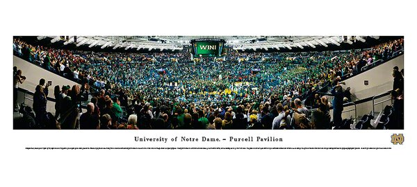 NCAA Basketball Photographic Print by Blakeway Worldwide Panoramas, Inc