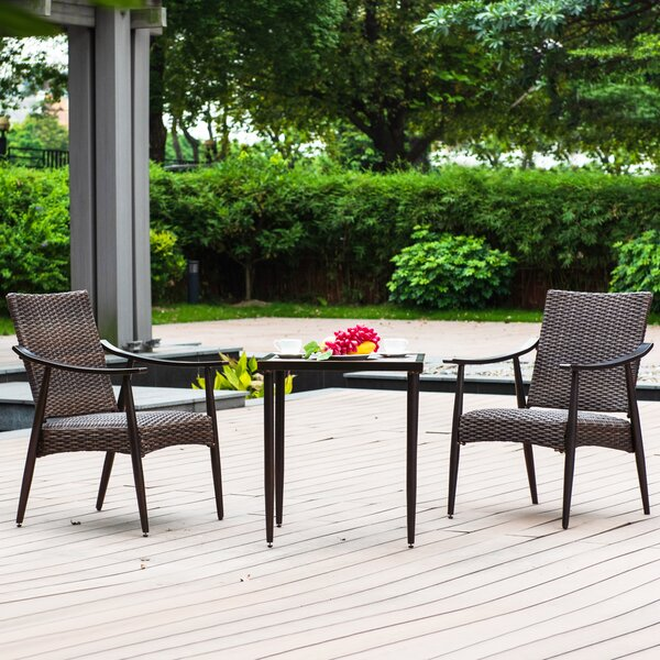 Stamper 3 Piece Seating Group by Charlton Home