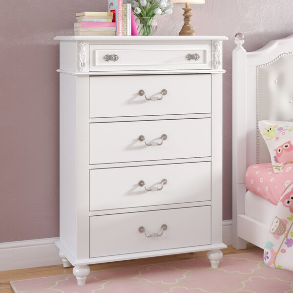Brooklyn 5 Drawer Chest by Viv + Rae