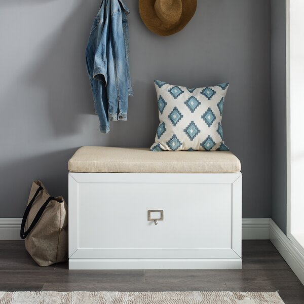 Adelaja Entryway Drawer Storage Bench