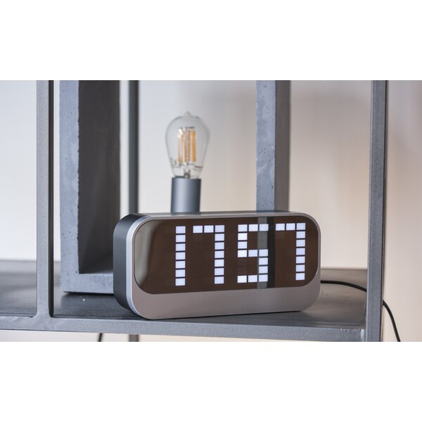 Loud Alarm Tabletop Clock by Latitude Run