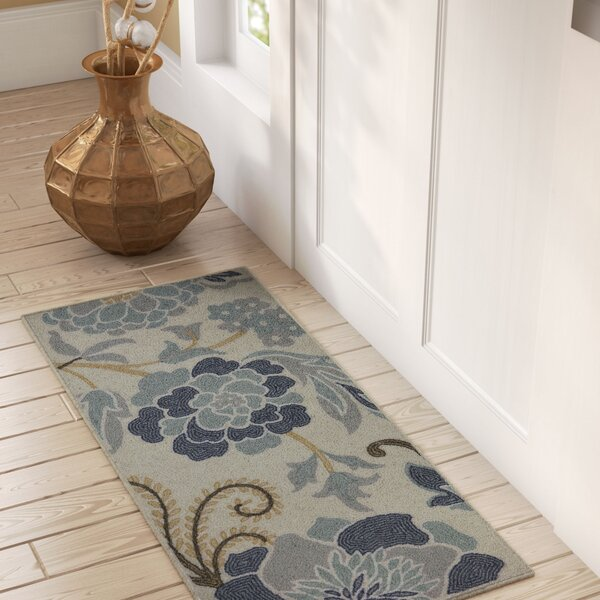 Thorson Power Flower Printed Kitchen Mat by Alcott Hill