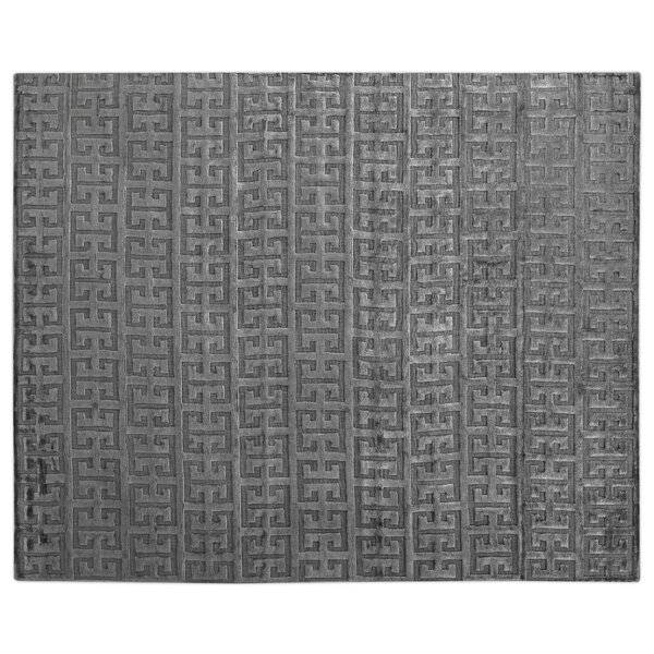 Kingsley Hand-Woven Charcoal Area Rug by Exquisite Rugs