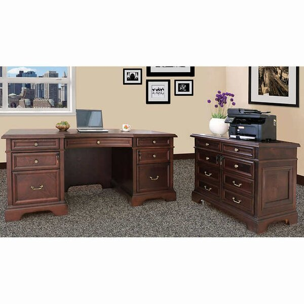 Bruch 2 Piece Desk Office Suite by Darby Home Co