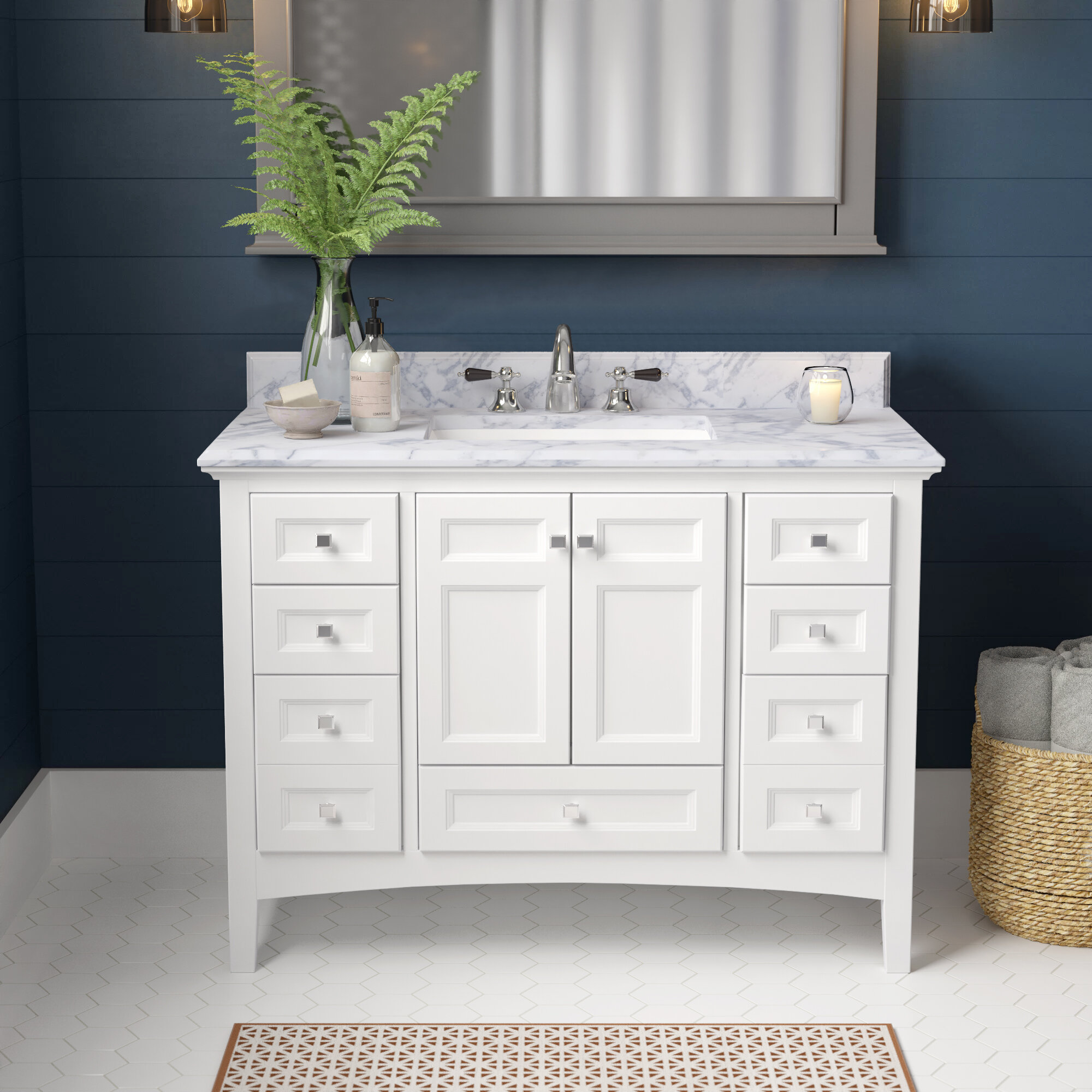 Luz 42 Single Bathroom Vanity Set Reviews Birch Lane