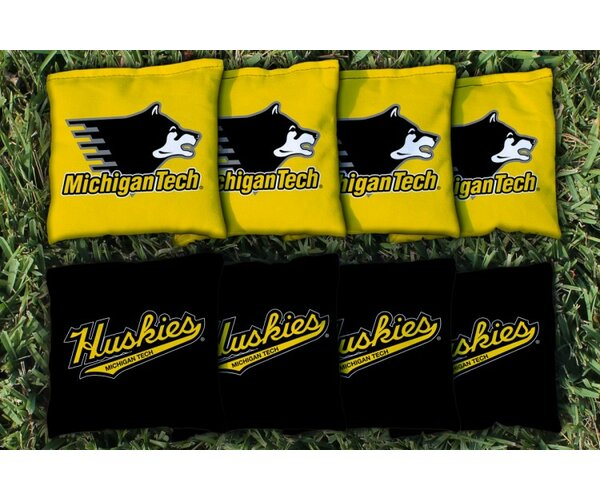 NCAA Replacement Corn Filled Cornhole Bag Set by Victory Tailgate
