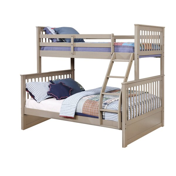 Wang Twin Over Full Bunk Bed by Harriet Bee