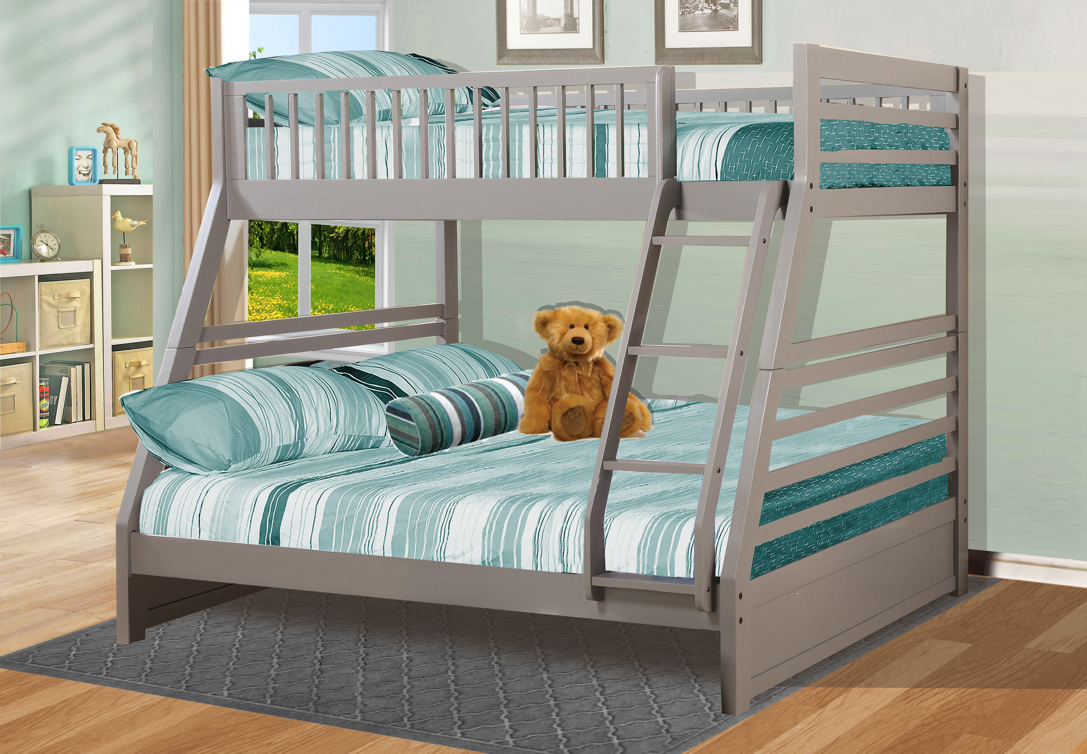 Wildon Home® Twin over Full Bed & Reviews   Wayfair
