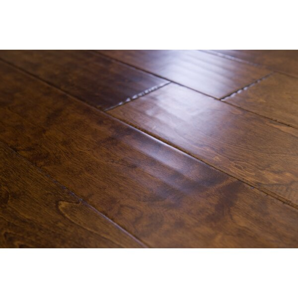 Munich 5 Engineered Birch Hardwood Flooring in Caramel by Branton Flooring Collection