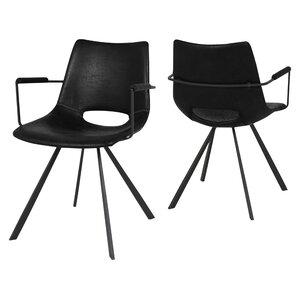 2-tlg. Polsterstuhl Coronas von Canett Furniture