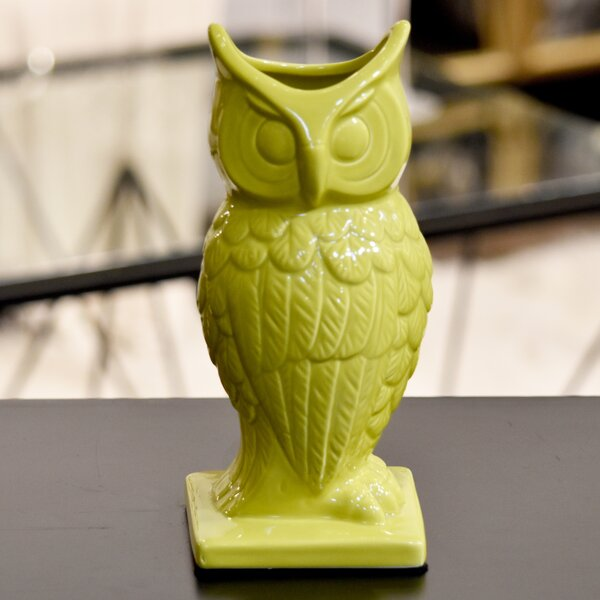 Large Ceramic Owl by Urban Trends