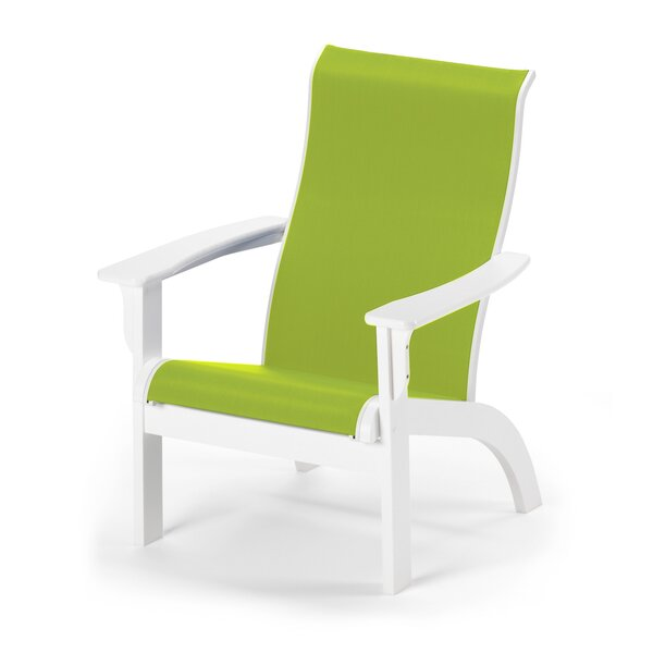 Sling Plastic Folding Adirondack Chair by Telescope Casual