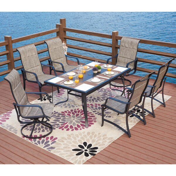 Siewert 7 Piece Dining Set by Charlton Home