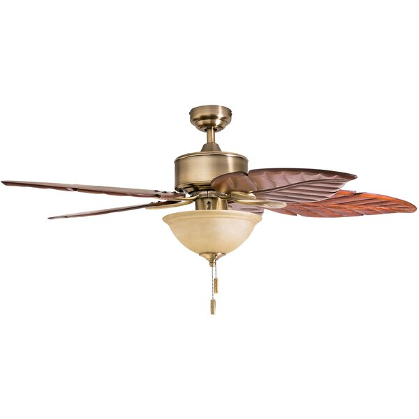 52 Sabal Palm Tropical 5 Blade LED Ceiling Fan by Honeywell