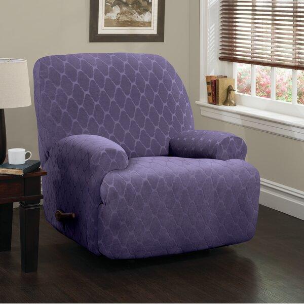 Jumbo Box Cushion Recliner Slipcover by Winston Porter