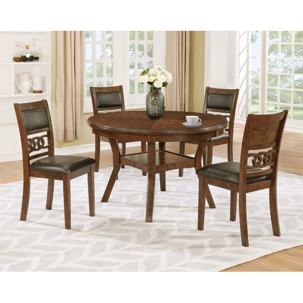 Cally Upholstered Dining Chair (Set of 4) by Crown Mark