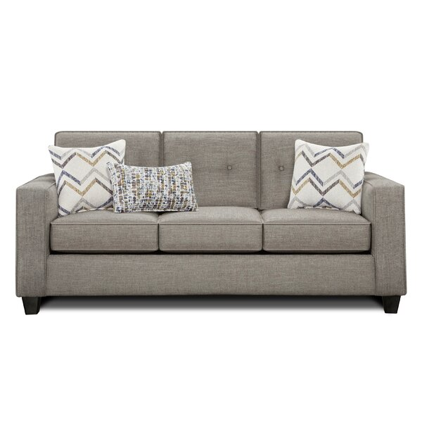 Avienda Slate Sofa By Wrought Studio Bargain