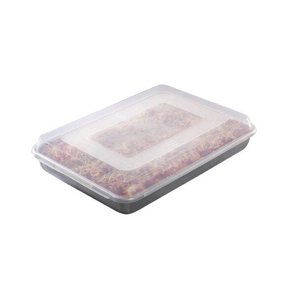 Hi-Side Sheet Cake Baking Pan with Lid by Nordic Ware