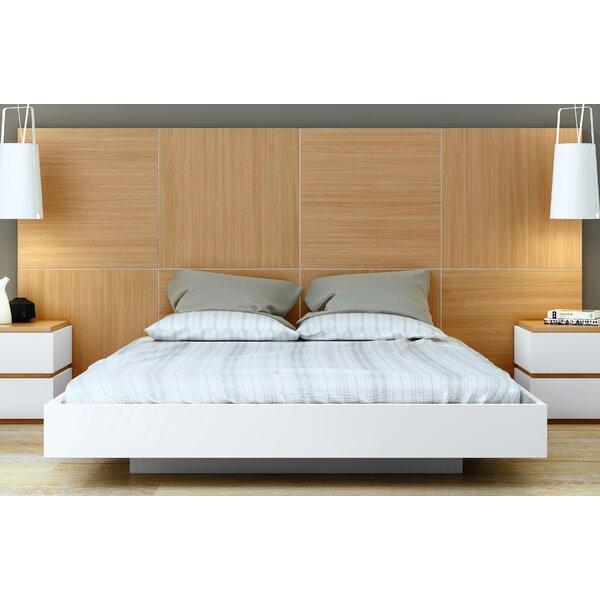 Dusk Platform Bed by Tema