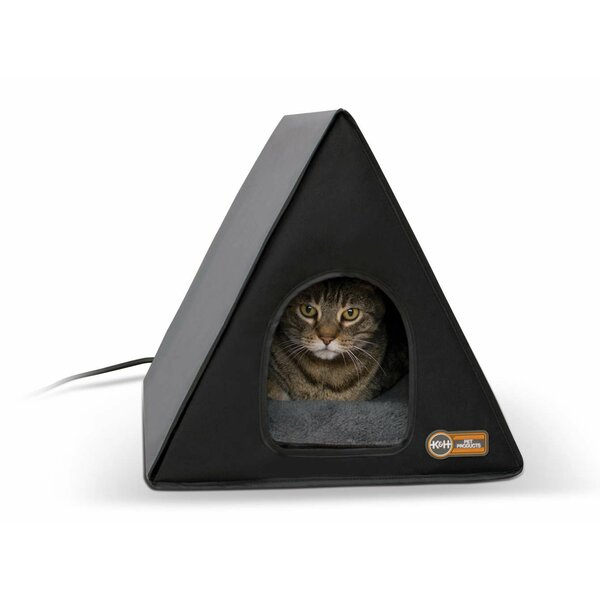 Heated A-Frame Cat House by K&H Manufacturing