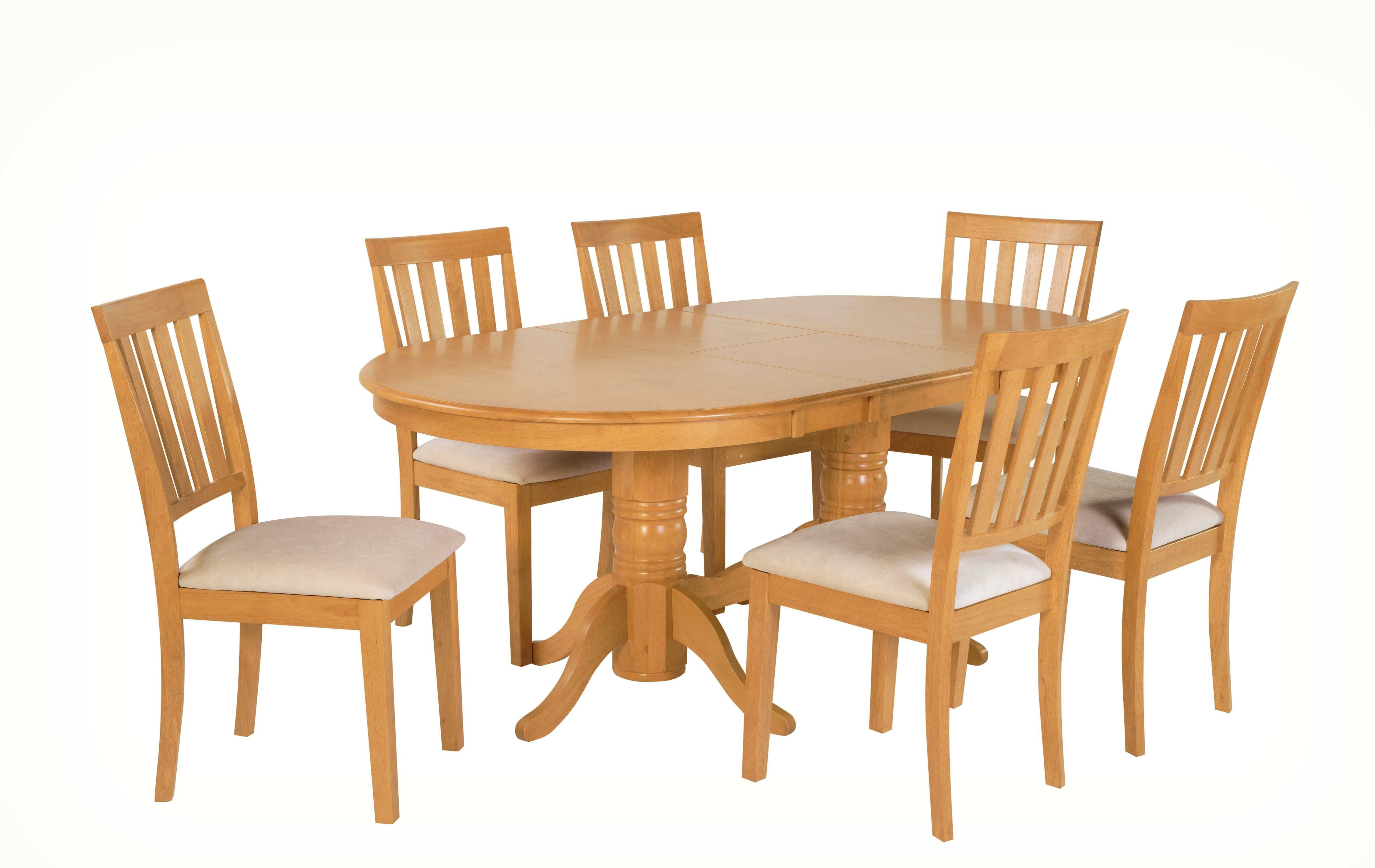 Andover mills lunde 7 piece extendable solid wood dining set wayfair