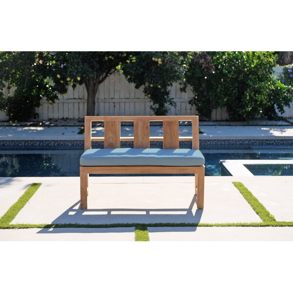 Weern Teak Garden Bench by Foundry Select
