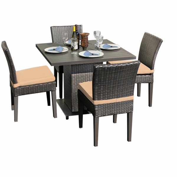 Tegan 5 Piece Dining Set with Cushion by Sol 72 Outdoor