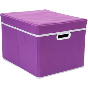 Blank Stackable Fabric Storage Cube