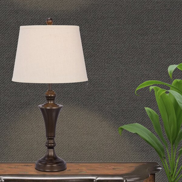 Raley Metal 26 Table Lamp (Set of 2) by Charlton Home