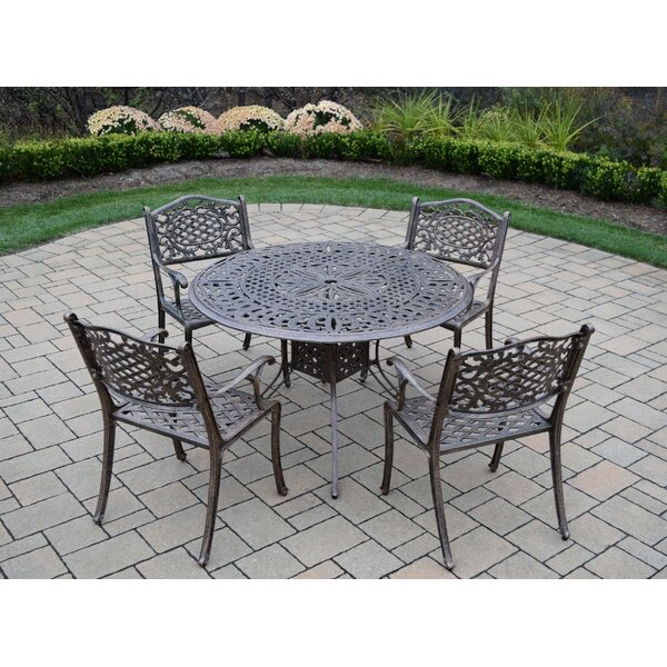 Capitol 5 Piece Dining Set by Oakland Living