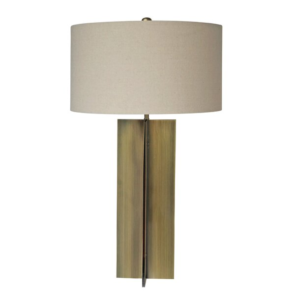 Bland Oatmeal 30 Table Lamp by Brayden Studio