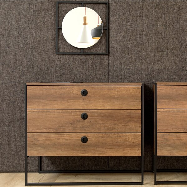 Deshawn 3 Drawer Chest by Langley Street