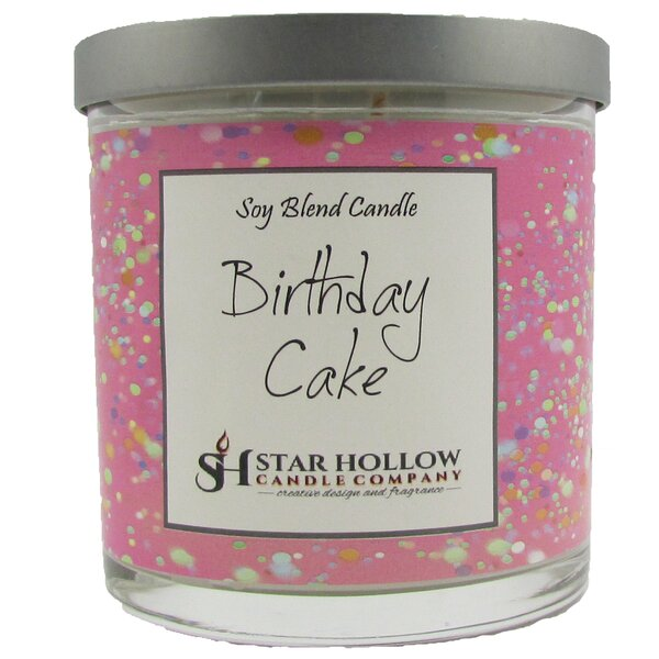 Birthday Cake Scented Jar Candle By Star Hollow Company