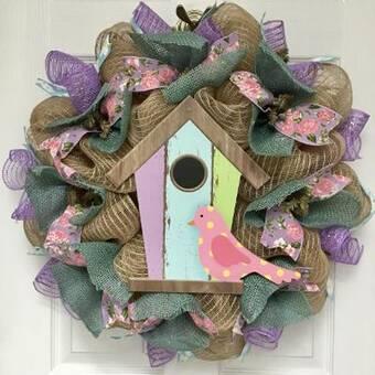 Gracie Oaks Swarm Bee 24 Polyester Wreath Wayfair