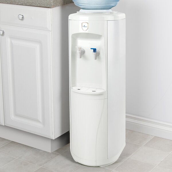 Free-Standing Room Temperature and Cold Electric Water Cooler by vitapur
