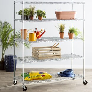 Wayfair Basics 76H x 60W 5 Shelf Wire Shelving Unit by Wayfair Basics™