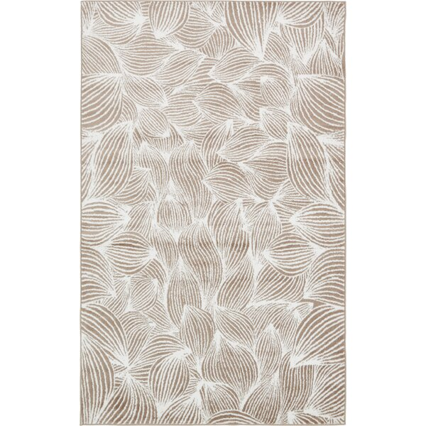 Sidney Beige Area Rug by Wrought Studio