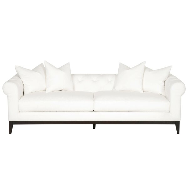 Get Name Brand Naiara Chesterfield Standard Sofa by Gracie Oaks by Gracie Oaks