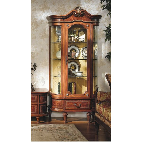 Pierre Curio Cabinet by Astoria Grand