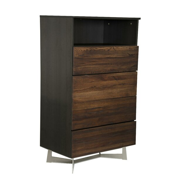 Latinne 4 Drawer Square Accent Chest