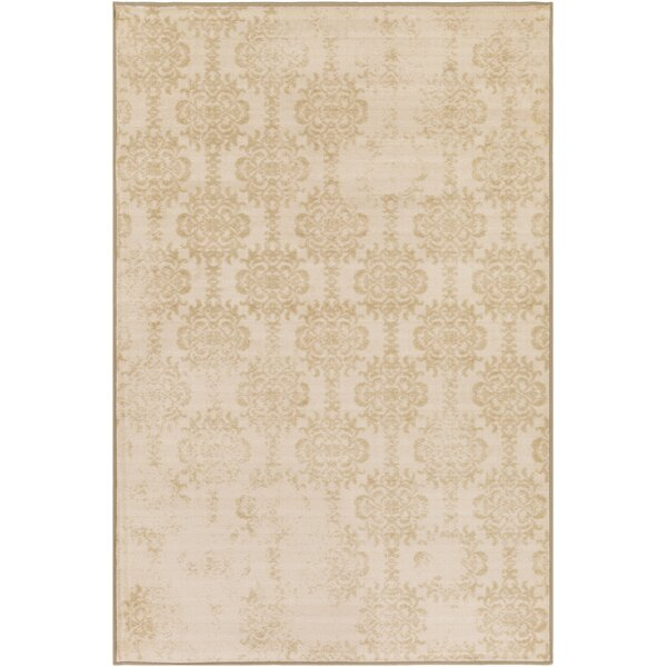 Huntingdon Beige Area Rug by Gracie Oaks