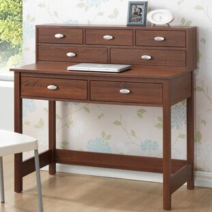 Online Reviews Baxton Studio McKinley Writing Desk with Hutch By Wholesale Interiors