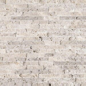 Random Sized Travertine SplitfaceTile in Gray