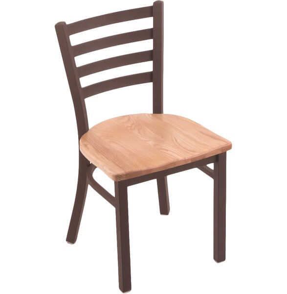 Evers Solid Wood Dining Chair by Winston Porter