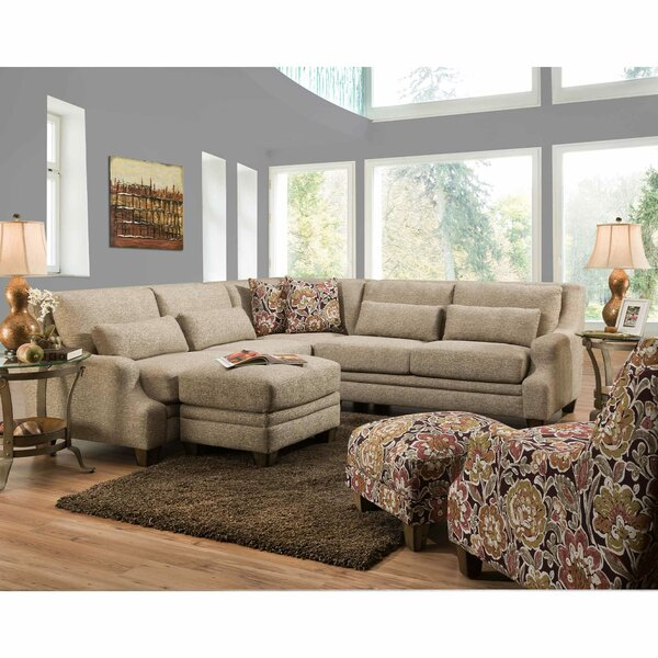 Bridget Symmetrical Sectional by Charlton Home