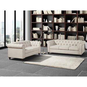 Chesterfield 2 Piece Living Room Set Part 86