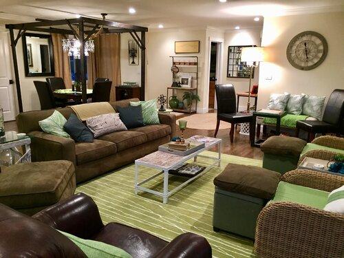 800+ Green, Living Room Design Ideas | Wayfair