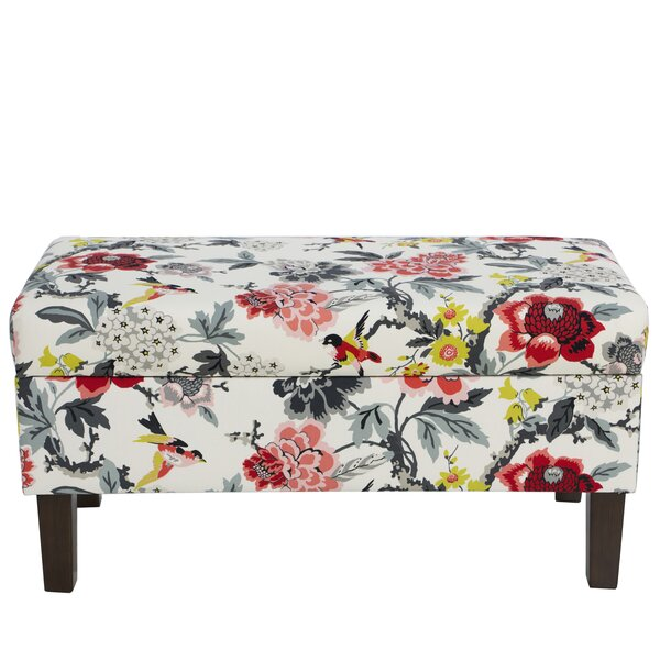 Machin Upholstered Storage Bench by Mistana