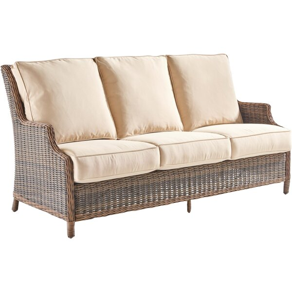 Fannin Patio Sofa with Cushions by Darby Home Co